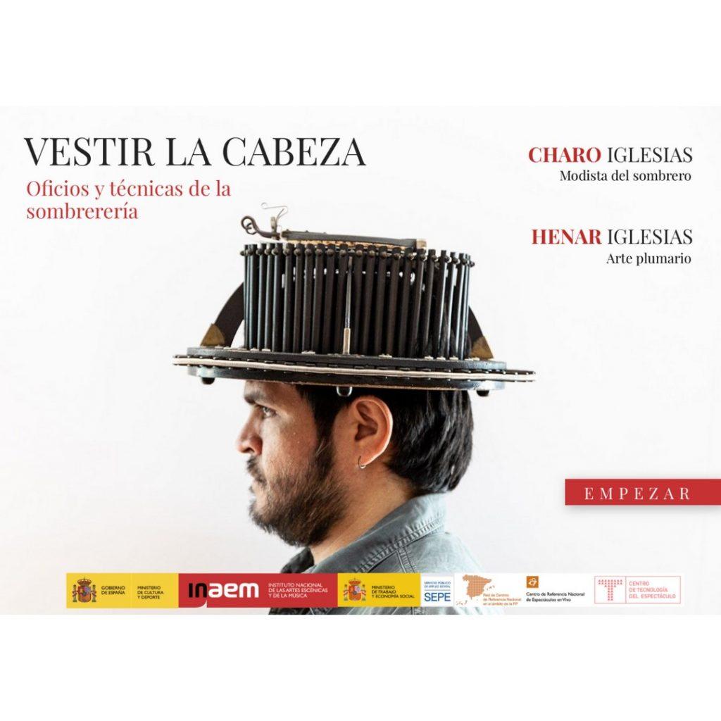 """Presentación de """"Vestir la cabeza. Oficios y técnicas de la sombrerería"""" de Charo y Henar Iglesias"""